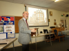 Neil Crutchley Giving His Talk On The Victorian Society